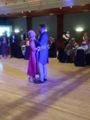 IMG_20190928_204930134_BURST001 (griffpops_deptford) Tags: wedding reception dancing reading formalattire ladyinred menwithbeards