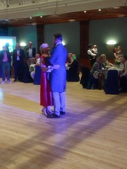 IMG_20190928_204930134_BURST000_COVER_TOP (griffpops_deptford) Tags: wedding reception dancing reading formalattire ladyinred menwithbeards