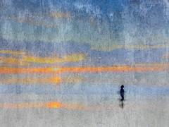 Essai (JEAN-PAUL TALIMI) Tags: jeanpaultalimi talimi biscarrosse plagedebiscarrosse solitude sable sudouest bleue aquitaine landes mer fr france beach