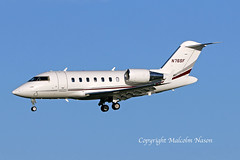 CHALLENGER 650 N76SF STATE FARM MUTUAL AUTOMOBILE INSURANCE (shanairpic) Tags: bizjet corporatejet executivejet cl650 challenger650 bombardier shannon n76sf