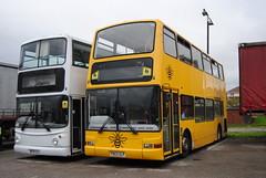 Harris Travel of Accrington (Hesterjenna Photography) Tags: trident alexander alexanderdennis dennis plaxton president pn03ulp decker bus coach psv goahead london londongeneral londonbus accrington lancashire blackburn