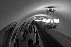 MMM . MOSCOW-METRO-MOOD (LitterART) Tags: metro moscow mocba moskau mood monochrome