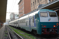 Trenitalia train @ Porta Nuova train station @ Turin (*_*) Tags: october 2019 autumn automne fall europe italy italia italie turin torino piedmont piemont piemonte afternoon sunday trainstation portanuova trenitalia