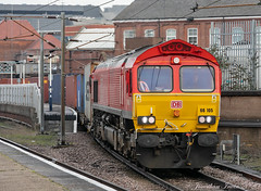 66105 DB Cargo_E5A0345 (Jonathan Irwin Photography) Tags: 66105 db cargo doncaster