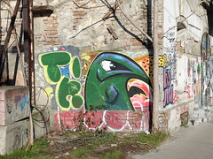 Street art in Belgrade's Savamala neighbourhood (chibeba) Tags: belgrade belgrad serbia europe january 2020 holiday vacation city urban citybreak shortbreak winter capital capitalcity streetart art mural graffiti graffitiart urbanart belgradestreetart