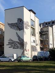 Street art in Belgrade (chibeba) Tags: belgrade belgrad serbia europe january 2020 holiday vacation city urban citybreak shortbreak winter capital capitalcity streetart art mural graffiti graffitiart urbanart belgradestreetart