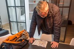 Planning The Best Route (ClydeHouse) Tags: handpuppet derek paris 75009 metro byandrew karl ruedudelta toldlodge map donkey rochechouart appartement