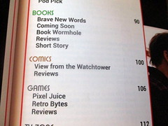Subsection of Table of Contents with Regulars on Comics in Starburst Magazine #469: Birds of Prey Collectors' Edition (Autistic Reality) Tags: interior inside indoors architecture building structure residence cityoftakomapark review jamescameronsavatar avatar jamescameron starburstmagazine469 birdsofprey collectorsedition takomapark publications jobs work science fiction sciencefiction dmv maryland md stateofmaryland montgomerycounty usa us america unitedstatesofamerica unitedstates thewombatoriumacapitalidea wombatoriumacapitalidea wombatorium acapitalidea capitalidea capital idea cambridge thecambridge cambridgeapartments thecambridgeapartments possessions film cinema books starburst magazine 2020 darkhorsecomics darkhorse comics comicbooks graphicnovels lightstormentertainment lightstorm entertainment avatartsuteyspath brothers tsuteyspath avatarbrothers