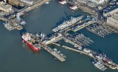 RX301656 (Andy Amor) Tags: hms dockyardhmnb submarines nuclear warships type23 hmsmonmouth floatingcrane docks basin hmnb