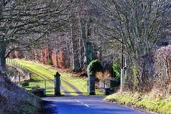 Photo of Lintrose House Gates