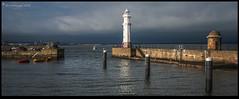 Newhaven Harbour DSC_4820 (dark-dave) Tags: scotland newhaven harbour lighthouse coast coastal clouds landscape seascape