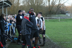 143 (Dale James Photo's) Tags: old bradwell united football club versus harefield fc spartan south midlands league challenge trophy quarter final sports social milton keynes saturday 18th january 2020 non