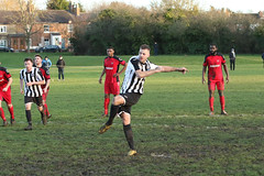 134 (Dale James Photo's) Tags: old bradwell united football club versus harefield fc spartan south midlands league challenge trophy quarter final sports social milton keynes saturday 18th january 2020 non