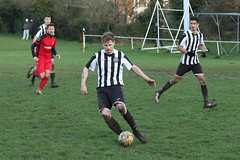 162 (Dale James Photo's) Tags: old bradwell united football club versus harefield fc spartan south midlands league challenge trophy quarter final sports social milton keynes saturday 18th january 2020 non