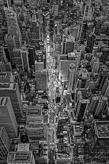 Aerial Times Square New York City  BW (Susan Candelario) Tags: 42ndst 42ndstreet aerialview categories chryslerbuilding cities city cityscapes esb eastriver empirestatebuilding flatironbuilding flatirondistrict hudsonriver lowermanhattan manhattan manhattanskyline metlifebuilding metlifeinsuranceco ny nyc nycskyline newyork newyorkcity newyorkcityskyline newyorklifeinsuranceco northamerica oneworldtradecenter susancandelario timessquare topview unitedstates viewfromabove worldtradecenter aerial aerials architectural architecture birdseyeview bluehour cityscape dusk evening iconic illuminated land lights lit midtown midtownmanhattan neonsign nightfall scenery signs skyline skylines skyscraper skyscrapers sunset sundown sunsets twilight upperview urban urbanaerial urbanlandscape urbanskyline