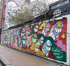 281A7649    Shoreditch Pezbarcelona (blackbike35) Tags: england london londre allen park bricklane shoreditch art street wall wallart mur mural letters writing work bomb spray stencil pochoir urban urbex artists