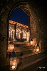Altes Schloss Baden-Baden (juerger69) Tags: altes schloss badenbaden burg dunkelheit d750 nikkor20mm35 langzeitbelichtung
