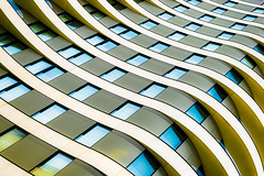 Curvature (Sean Batten) Tags: london england unitedkingdom architecture lines curves building abstract city urban nikon df 50mm vauxhall riverwalk apartments