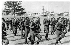 Fort Jackson recruits at boot camp: 1965 ca. (Washington Area Spark) Tags: fort jackson south carolina sc columbia 1965 circa boot camp us army recruits black white racism supremacy reginald booker