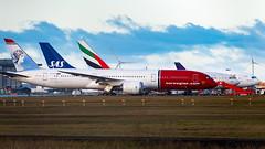 Norwegian, SAS and Emirates at the Cargo Terminal, 29/11/2019 (DanishAviation) Tags: norwegian 787 dreamliner sas emirates cargo copenhagenairport cph cphspotter cphairport sonyrx10iv
