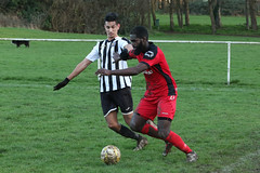 147 (Dale James Photo's) Tags: old bradwell united football club versus harefield fc spartan south midlands league challenge trophy quarter final sports social milton keynes saturday 18th january 2020 non