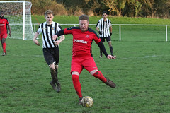 142 (Dale James Photo's) Tags: old bradwell united football club versus harefield fc spartan south midlands league challenge trophy quarter final sports social milton keynes saturday 18th january 2020 non