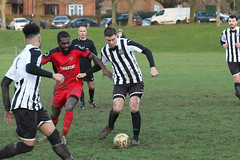 161 (Dale James Photo's) Tags: old bradwell united football club versus harefield fc spartan south midlands league challenge trophy quarter final sports social milton keynes saturday 18th january 2020 non