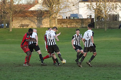 155 (Dale James Photo's) Tags: old bradwell united football club versus harefield fc spartan south midlands league challenge trophy quarter final sports social milton keynes saturday 18th january 2020 non