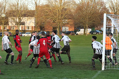 154 (Dale James Photo's) Tags: old bradwell united football club versus harefield fc spartan south midlands league challenge trophy quarter final sports social milton keynes saturday 18th january 2020 non
