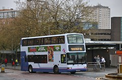 Photo of First Glasgow LK03 NHE (32305) | Route X8 | Killermont St (Buchanan Bus Station), City Centre
