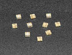 NeoPixel Addressable 1515 LEDs (1.5mm x 1.5mm) - 10 pack - SK6805-E-J (adafruit) Tags: neopixels leds 10pack kits kitsprojects projects electronics adafruit addons accessories diy diyelectronics diyprojects new newproducts sk6805ej 4492