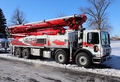 Viper Concrete Pump Truck (raserf) Tags: viper concrete cement pump pumper pumping truck trucks mack putzmeister sturtevant wisconsin racine county calgary alberta canada