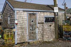 Fisherman's Shack (brucetopher) Tags: house shack touristy work building cluttered waterfront home shed door window porthole decorative quirky anchor