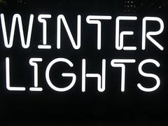 UK - London - Isle of Dogs - Canary Wharf - Winter Lights Festival (JulesFoto) Tags: uk england london winterlightsfestival canarywharf lightinstallations sign signage