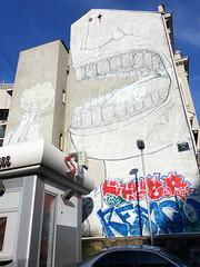 Street art in Belgrade (artist: Blu) (chibeba) Tags: belgrade belgrad serbia europe january 2020 holiday vacation city urban citybreak shortbreak winter capital capitalcity streetart art mural graffiti graffitiart urbanart belgradestreetart