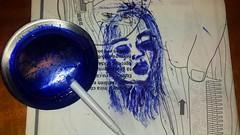 Bocetos en restos de papel. . . #portrait #drawing #art #draw #painting #portraitdrawing #ballpen #blue #artist#dibujos #ballpen #sketch #flickr  #artlovers #painter#boli  #artstagram  #portrait#bonsoir #goodnight #bellezza #dibujos #dibujosaboli #boligra (egc2607) Tags: blue sketch disegno portraitdrawing eyes goodnight instagram tattoo art artdaily artlovers flickr bellezza portraits ballpen artist boligrafo painter painting boli dibujosaboli drawing buenasnoches buonanotte dibujos portrait woman artstagram bonsoir draw