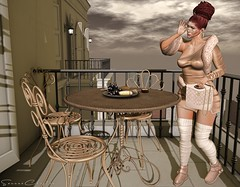 When knocks Temptation, imagination Answers (My Fresh Trend) Tags: myfreshtrend sannae hair emotions trèschicevent glasses magnoliac earrings 187 body maitreya dress fur elvenelder bag ddl boots nanika decor patio chezmoi