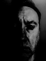 Yin and Yang (spratpics) Tags: yin yang yinandyang photographybypaulwalker paulwalker teesside uk blackandwhite monochrome darkart artisticphotography portait darkportrait portraiture portraiturephotography darkness lightanddarkness england britain