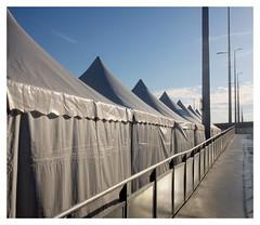 Tents (ngbrx) Tags: euroairport saintlouis hautrhin france basel bale moulhouse freiburg airport flughafen aeroport frankreich switzerland schweiz suisse svizzera tent zelte sun sonne winter