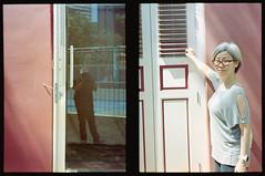 Window (S.H.CHOW) Tags: 38mmf18 analog chowsheuhau diycolordev expiredfilm film filmisnotdead fujifilmpro400h halfframe olympus pro400h penft sheuhauchow unicolorc41kit zuiko38mmf18 shchow filmphotography