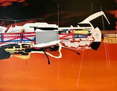 Jim Harris: Dark Star Harvest. (Jim Harris: Artist.) Tags: art arte painting peinture lartabstrait kunst kunstzeitgenössische maalaus malerei målning málverk sun space futurism futuristic schilderij schoolofthemuseumoffinearts schilderkunst technology technik