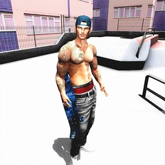 """"""" Try and Fail, But Don't Fail to Try."""" (maka_orionsl) Tags: avatar avi art artist secondlife sl screenshot snap snapshot skate skateboard skating skater game gaming games virtual videogame videogames photography portrait photo picture pose pic posing backdrop backdropcity"""