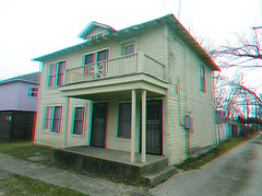 214 W. NEELY ST. DALLAS TEXAS FORMER HOME OF US PRES. KENNEDY ASSASSIN LEE HARVEY OSWALD 3D RED CYAN ANAGYLPH (REDFURD) Tags: 214 neely street dallas texas home of president kennedy assassin lee harvey oswald 3d stereo red cyan anagylphy