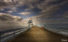 Winter's Morn (Don's PhotoStream) Tags: california sanclemente beach nikon pier 18secf22 don'sphotostream californiacurls wintertimeblues 2470mm iso100 surfing