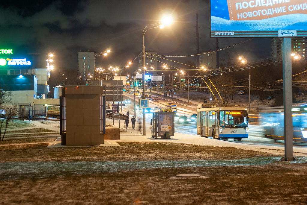 фото: Moscow trolleybus 8120