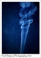 Blue Smoke (Paul Simpson Photography) Tags: paulsimpsonphotography imagesof smoke homestudio flash sonya77 january2020 smokephotos smokephotography imageof photoof photosof arty art