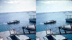 Batch G 0198 (dizzygum) Tags: vintage 3d stereo slide image 1959 water boat
