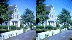 Batch G 0197 (dizzygum) Tags: vintage 3d stereo slide image 1959 house exterior