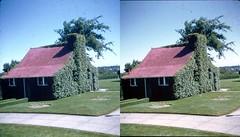 Batch G 0188 (dizzygum) Tags: vintage 3d stereo slide image 1959 building exterior