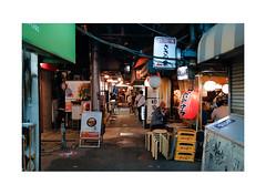 ハーモニカ横丁 Harmonica Alley (Melissen-Ghost) Tags: ハーモニカ横丁 harmonica alley japan tokyo urban scenery new wave topographics street grain fujifilm